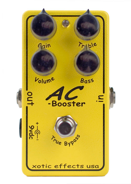 xotic pedals ac booster pedal area 22 guitars. Black Bedroom Furniture Sets. Home Design Ideas