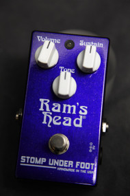 Stomp Under Foot Ram's Head Fuzz Pedal