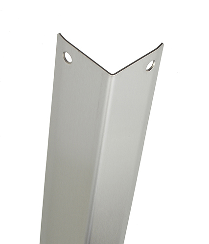 Aluminium Corner Guards : Diamond plate wall corner guards thecornerguardstore
