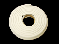 Edge Cushion -  12 foot - 1 inch sides (Inside Dimension) - Roll in Poly Bag  - Ivory