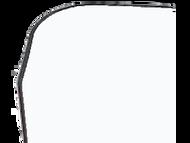48'' x 2.5'' x 2.5'' - 90 Deg - 3/4'' Radius Bullnose, .100'' Thick, Lexan (Polycarbonate) Color Corner Guard, Non-Returnable