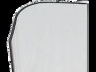 120'' x 2.5'' x 2.5'' - 90 Deg - 3/4'' Radius Bullnose, .100'' Thick, Lexan (Polycarbonate) Clear Corner Guard