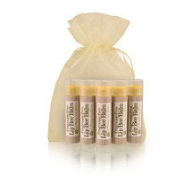 Lip Bee Balm 5 Pack- Fragrance Free