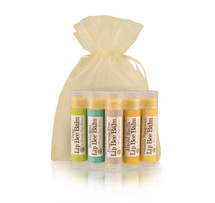 Lip Bee Balm 5 Pack- Sample Pack