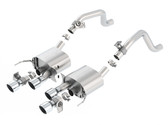 Borla S-Type Dual Mode Axleback Exhaust - C7 Corvette Stingray LT1