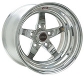 "Weld Wheels - 17""x10.5"" RT-S S71 Forged Aluminum Polished Rear Wheel - 09-15 CTS-V Coupe"