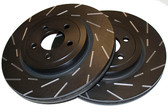 EBC - Ultimax Slotted Rotors - Rear - 09-15 CTS-V / 12-15 ZL1