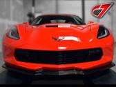 C7 Carbon C7 Corvette Z06 STYLE Front Splitter - Carbon FLASH