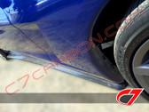 C7 Carbon 2005-2013 Chevrolet Corvette side skirts for standard C6 - Carbon Fiber