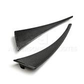 Anderson Composites 2014 -2016 Corvette C7 Carbon Fiber Front Mud Flaps