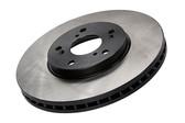 Centric Premium Blank Rear Rotors - 09-15 CTS-V / 12-15 ZL1 / 10-15 Camaro SS / 04-07 CTS-V