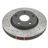 DBA T3 4000 Series Rotor Drilled & Slotted Front - 2014 - 2017 C7 Corvette - NON Z51