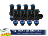 Fuel Injector Clinic 1650cc Injector Set for LS3, LS7, L76, L92, and L99 engines (High-Z)