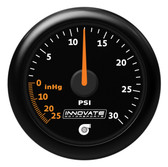 Innovate MTX-A: Analog Series 30 PSI Vac / Boost Gauge