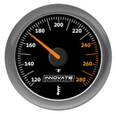Innovate MTX-A: Analog Series Oil or Water (Fluid) Temperature Gauge - P/N: 3861