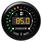 Innovate MTX-D: Ethanol Content % and Fuel Temp Gauge Kit w. Sensor