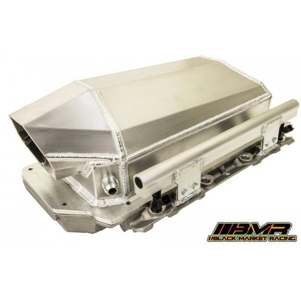 Twin Turbo Kit Cts V: LS3/LSA Air To Water Intake Manifold (BMRLS2A2WIM