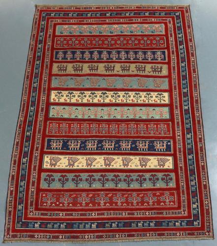 Sirjan Afghan Kilim (Ref 2660) 214x145cm