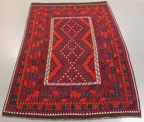 Kyber Mori Tribal Kilim (Ref 250) 364x243cm