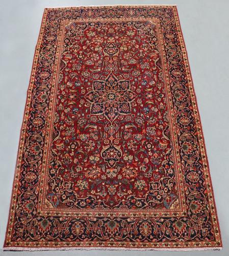Kashan Vintage Persian Rug (Ref 167) 207x123cm