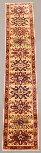Kazak Farahan Fine Veggie Dye Rug (Ref 241) 297x54cm