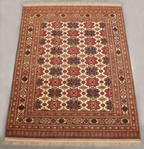 Kabul Fine Wool & Silk Afghan Rug (Ref 36) 283x212cm