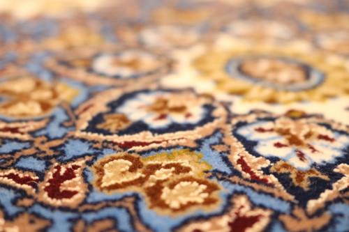 Isfahan Vintage Persian Rug (Ref 454) 161x107cm