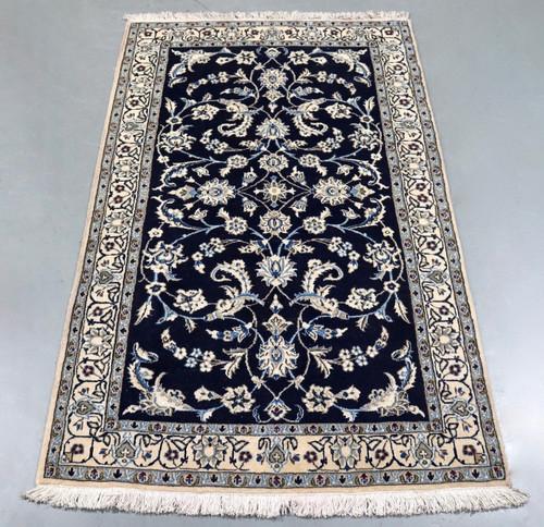 Persian Rugs Australia: Pair Of Nain Persian Rugs (Ref 6371) 60x40cm