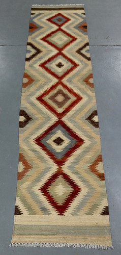 Vegetable Dye Kilim Runner (Ref 2735) 392x89cm