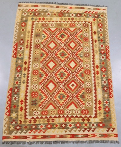 Veggie Dye Afghan Kilim (Ref 1791) 257x173cm