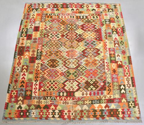 Veggie Dye Afghan Kilim (Ref 180) 290x250cm