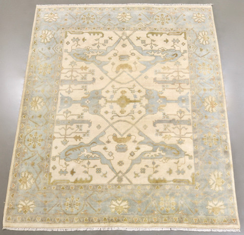 Oushak Jaipur Soft Wool Rug (Ref 6) 293x250cm