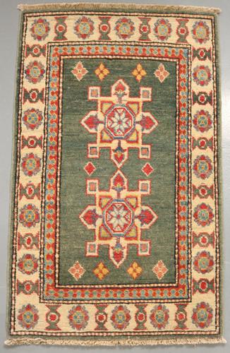 Kazak Veggie Dye Rug (Ref 1211) 98x61cm
