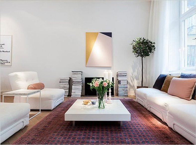 PAIRING TRADITIONAL RUGS WITH CONTEMPORARY FURNITURE V2