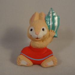 1993 Bunny With Seashell
