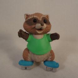 1991 Skating Raccoon