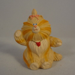 1987 Purrsonality Cat - Taffi