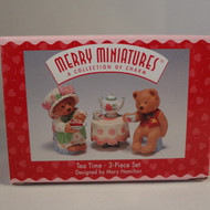 1997 Tea Time-Mary'S Bears - Set Of 3