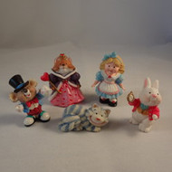 1996 Alice In Wonderland - Set Of 5