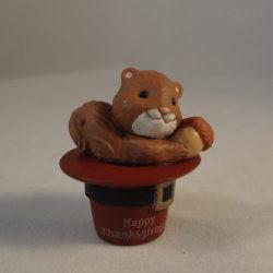 1990 Pilgrim Squirrel Hat