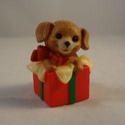 1984 Puppy In Gift Box