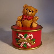 1982 Teddy Bear Container