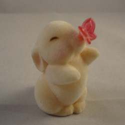 1986 Bunny With Butterfly