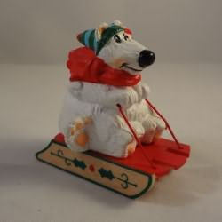 1985 Polar Bears Sledding