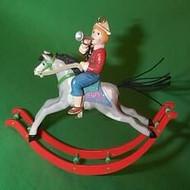 1987 Boy On Rocking Horse