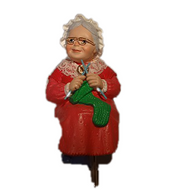 1988 Mrs Santa - Stocking Hanger (QSH8111)