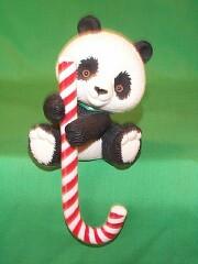 1984 Panda Bear - Stocking Hanger