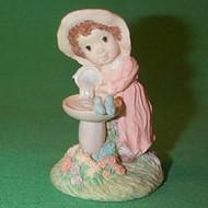 1991 Girl Filling Birdbath