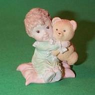 1989 Girl With Teddy Bear