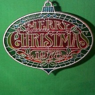 1978 Merry Christmas - Colors of Christmas
